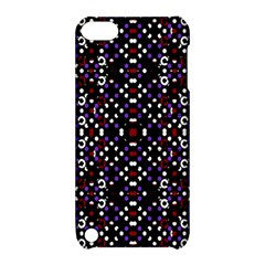 Futuristic Geometric Pattern Apple Ipod Touch 5 Hardshell Case With Stand