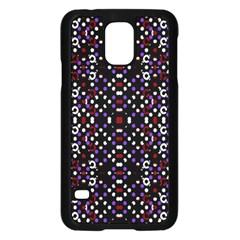 Futuristic Geometric Pattern Samsung Galaxy S5 Case (black)