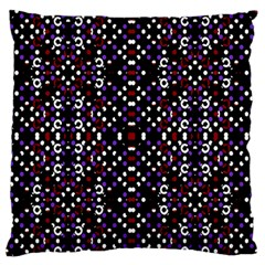 Futuristic Geometric Pattern Standard Flano Cushion Case (two Sides)