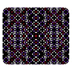 Futuristic Geometric Pattern Double Sided Flano Blanket (small)