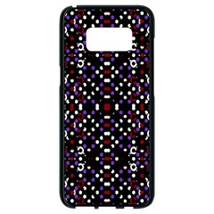 Futuristic Geometric Pattern Samsung Galaxy S8 Black Seamless Case