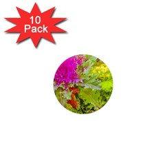 Colored Plants Photo 1  Mini Magnet (10 Pack)