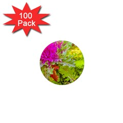 Colored Plants Photo 1  Mini Magnets (100 Pack)