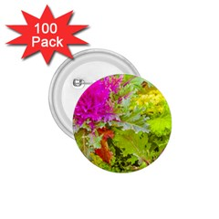 Colored Plants Photo 1 75  Buttons (100 Pack)