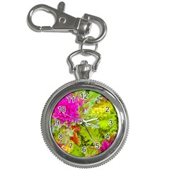 Colored Plants Photo Key Chain Watches