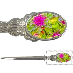 Colored Plants Photo Letter Openers
