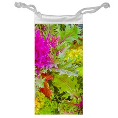 Colored Plants Photo Jewelry Bag