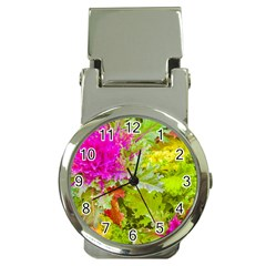 Colored Plants Photo Money Clip Watches