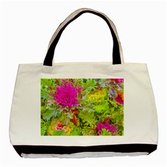 Colored Plants Photo Basic Tote Bag (two Sides)