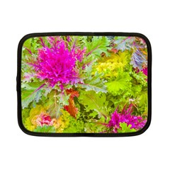 Colored Plants Photo Netbook Case (small)