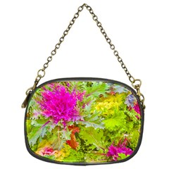 Colored Plants Photo Chain Purses (one Side)