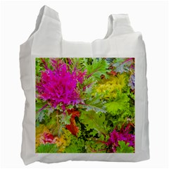 Colored Plants Photo Recycle Bag (one Side)