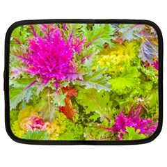 Colored Plants Photo Netbook Case (xl)