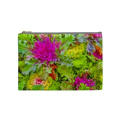 Colored Plants Photo Cosmetic Bag (medium)