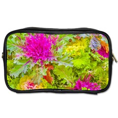 Colored Plants Photo Toiletries Bags