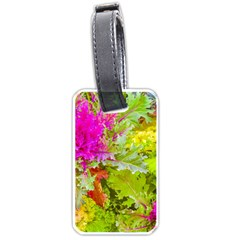 Colored Plants Photo Luggage Tags (two Sides)