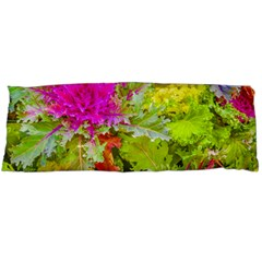 Colored Plants Photo Body Pillow Case (dakimakura)