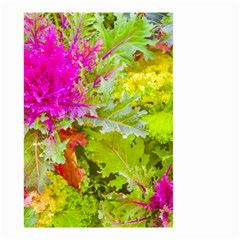 Colored Plants Photo Small Garden Flag (two Sides)