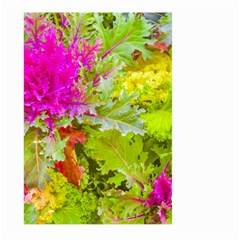 Colored Plants Photo Large Garden Flag (two Sides)