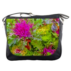 Colored Plants Photo Messenger Bags
