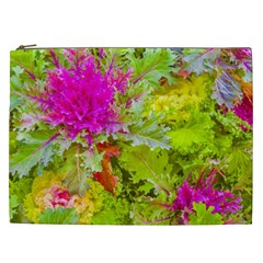 Colored Plants Photo Cosmetic Bag (xxl)