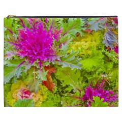 Colored Plants Photo Cosmetic Bag (xxxl)