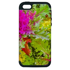 Colored Plants Photo Apple Iphone 5 Hardshell Case (pc+silicone)