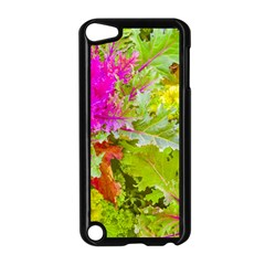 Colored Plants Photo Apple Ipod Touch 5 Case (black)