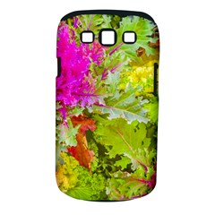 Colored Plants Photo Samsung Galaxy S Iii Classic Hardshell Case (pc+silicone)