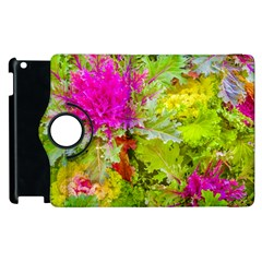 Colored Plants Photo Apple Ipad 2 Flip 360 Case