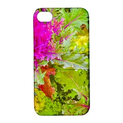 Colored Plants Photo Apple Iphone 4/4s Hardshell Case With Stand