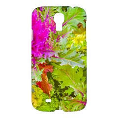 Colored Plants Photo Samsung Galaxy S4 I9500/i9505 Hardshell Case