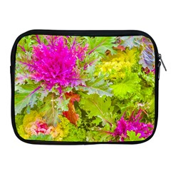 Colored Plants Photo Apple Ipad 2/3/4 Zipper Cases