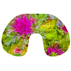 Colored Plants Photo Travel Neck Pillows