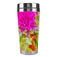 Colored Plants Photo Stainless Steel Travel Tumblers