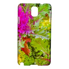 Colored Plants Photo Samsung Galaxy Note 3 N9005 Hardshell Case