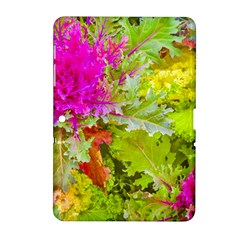 Colored Plants Photo Samsung Galaxy Tab 2 (10 1 ) P5100 Hardshell Case