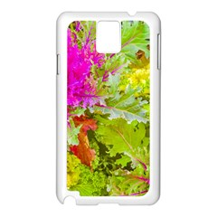 Colored Plants Photo Samsung Galaxy Note 3 N9005 Case (white)