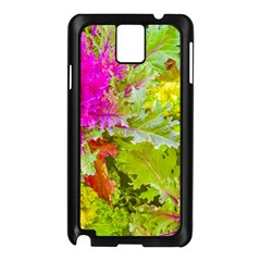 Colored Plants Photo Samsung Galaxy Note 3 N9005 Case (black)