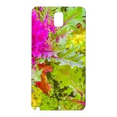 Colored Plants Photo Samsung Galaxy Note 3 N9005 Hardshell Back Case