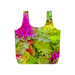 Colored Plants Photo Full Print Recycle Bags (s)