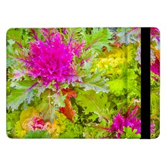 Colored Plants Photo Samsung Galaxy Tab Pro 12 2  Flip Case