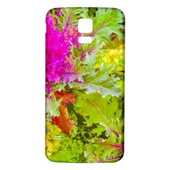 Colored Plants Photo Samsung Galaxy S5 Back Case (white)
