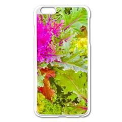 Colored Plants Photo Apple Iphone 6 Plus/6s Plus Enamel White Case