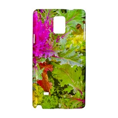Colored Plants Photo Samsung Galaxy Note 4 Hardshell Case