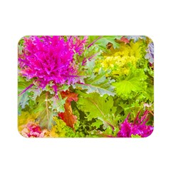 Colored Plants Photo Double Sided Flano Blanket (mini)