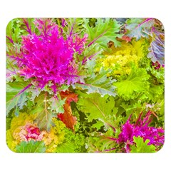 Colored Plants Photo Double Sided Flano Blanket (small)