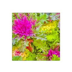 Colored Plants Photo Satin Bandana Scarf
