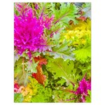 Colored Plants Photo Drawstring Bag (Large) Front