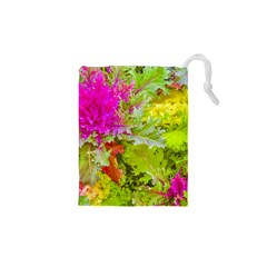 Colored Plants Photo Drawstring Pouches (xs)